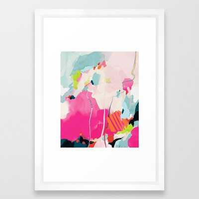 pink sky II Framed Art Print - Society6