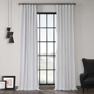 Ennis Linen Rod Pocket Single Curtain Panel - Wayfair