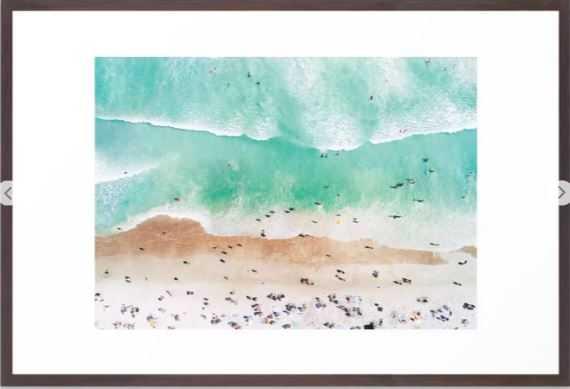 "Beach Mood Framed Art Print, Large (gallery) - 26"" X 38"" - Society6"
