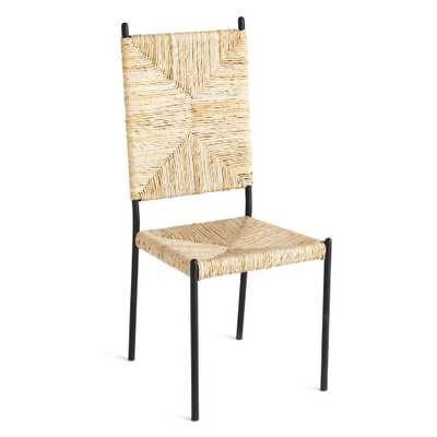 ABACA DINING CHAIR - Wisteria