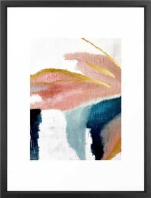 "Exhale, FRAME Vector Black, SIZE Medium (gallery) - 20"" X 26"" - Society6"