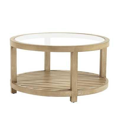 Thomas Round Coffee Table - Ballard Designs