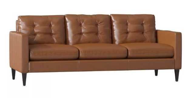 Leather Sofa - Wayfair