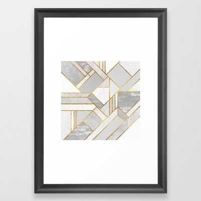 Gold City Framed Art Print - Society6