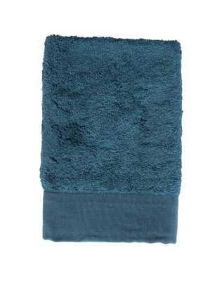 SORRENTO HAND TOWEL, PETROL BLUE - McGee & Co.