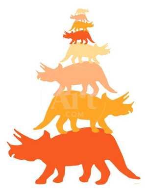 "Orange Tritop Print, 18""x24"" - art.com"