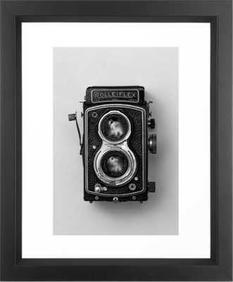 Rolliflex Camera Framed Art Print - Society6