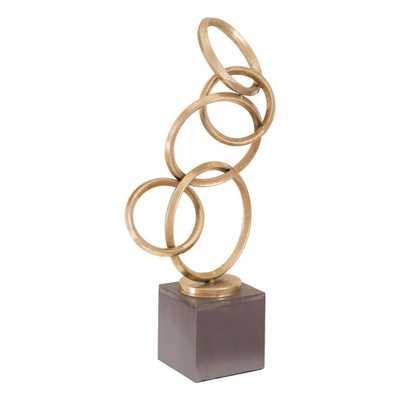 Balance Figurine Gold - Zuri Studios