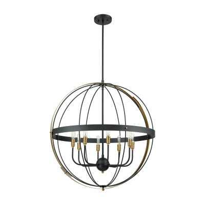 Gartman 8 - Light Candle Style Globe Chandelier - Wayfair