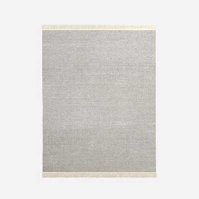 Tweed Flatweave Dhurrie Rug - West Elm