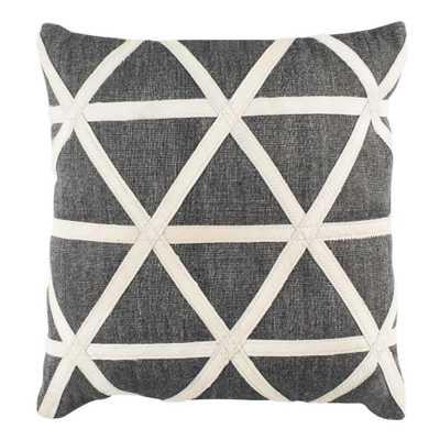 Safavieh Viola Cowhide Standard Pillow - Home Depot