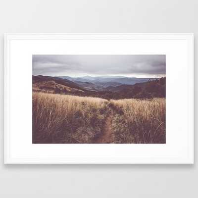 Bieszczady Mountains - Landscape and Nature Photography Framed Art Print, 26 x 38 - Society6