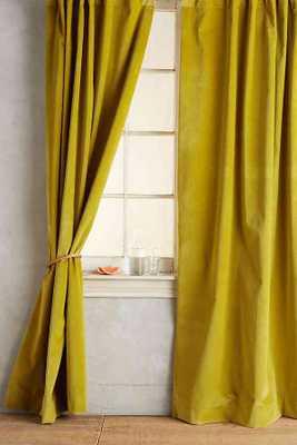 Matte Velvet Curtain - Anthropologie