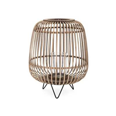 Heston Small Bamboo Lantern - Mercer Collection