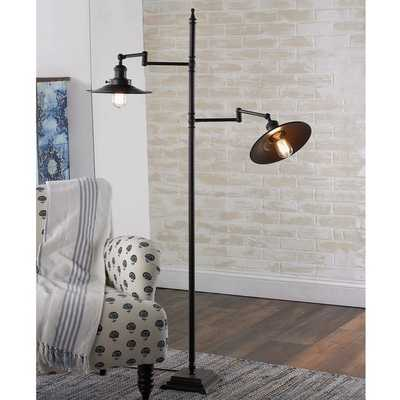 RESTORATION FAVORITE DOUBLE ARM FLOOR LAMP - Shades of Light