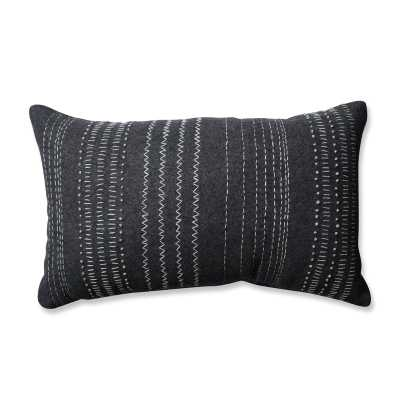 Tribal Stitches 100% Cotton Lumbar Pillow - Wayfair