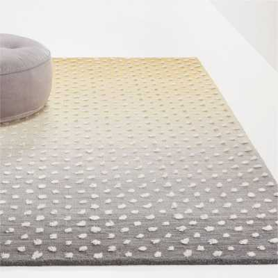 Ombre Dot Rug 5'x8' - Crate and Barrel
