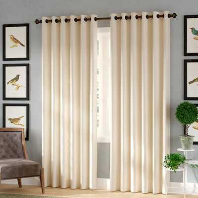 Tarakan Solid Blackout Thermal Grommet Single Curtain Panel - Wayfair