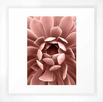 Pink Cactus Art Print - Medium by Printsproject (Vector White) - Society6