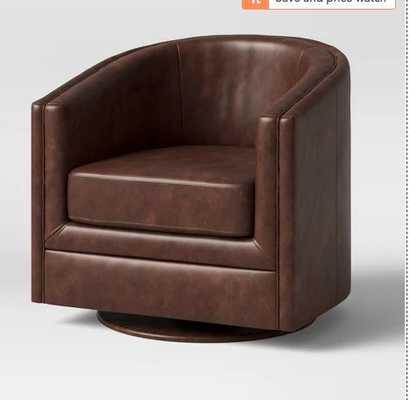 Berwick Barrel Swivel Chair - Threshold™ - Target