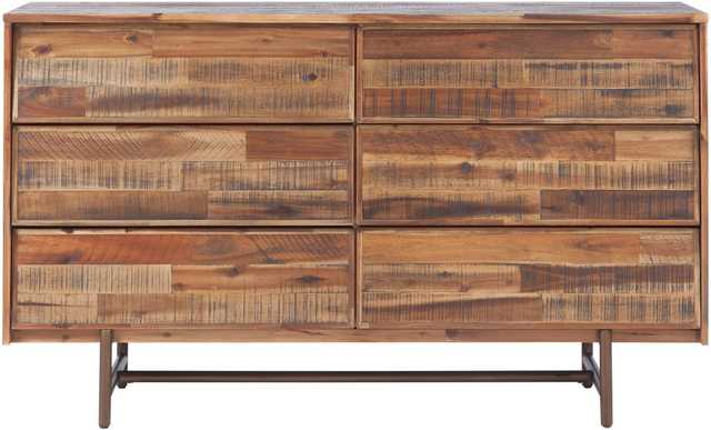 EPaige Wooden 6 Drawer Dresser - Maren Home