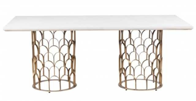 Gatsby Concrete Dining Table - High Fashion Home