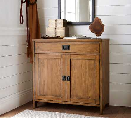 Wade Smart Entry Console , Weathered Pine - Pottery Barn