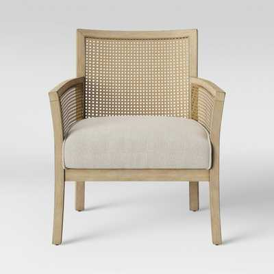 Laconia Caned Accent Chair Beige - Threshold™ - Target