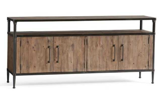 JUNO RECLAIMED WOOD MEDIA CONSOLE - Crate and Barrel