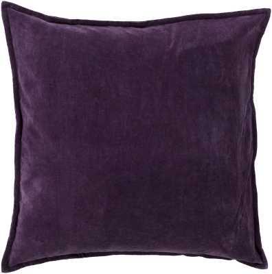 Bradford Smooth 100% Cotton Throw Pillow - AllModern