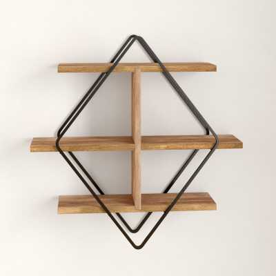 Daryl 3 Piece Diamond Accent Shelf - Wayfair