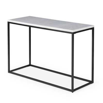 Belham Living Sorenson Rectangle Console Table with Marble Top - Hayneedle