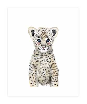 "Baby Animal Leopard, 16""x20"", Unframed Print - Minted"