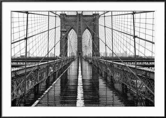 Brooklyn Bridge By PhotoINC - art.com