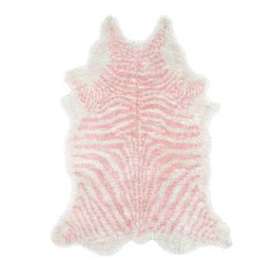 Khalhari Animal Print Handmade Tufted Pink Area Rug - Wayfair