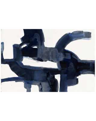 INDIGO ABSTRACT Unframed Art - McGee & Co.