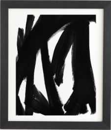 Natalie Baca Rhythm Black Framed Wall Art - Wander Print Co.