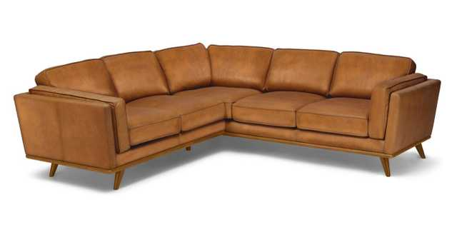 Timber Sectional, CHARME TAN AND HONEY OAK - Article