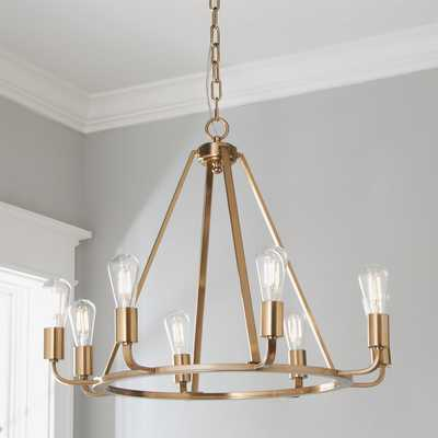 CONTEMPORARY RING CHANDELIER - Shades of Light