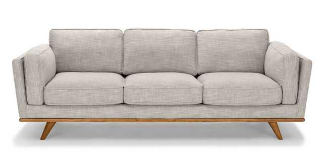 Timber rain cloud gray sofa - Article