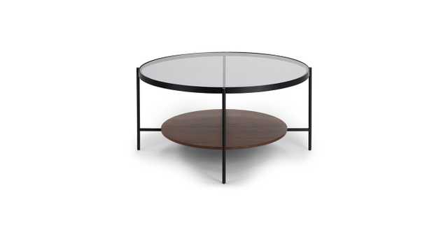 Vitri Walnut Coffee Table - Article
