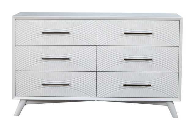 London 6 Drawer Double Dresser - AllModern
