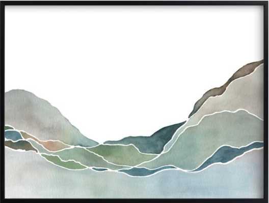 terrain no. 1  30 x 40 - Minted