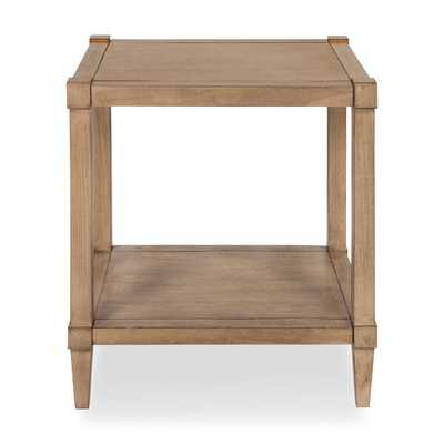 Gretchen Wooden Side Accent End Table, Light Brown - Wayfair