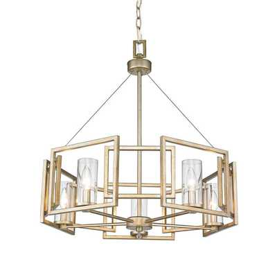 GEOMETRIC HALO CHANDELIER - Shades of Light