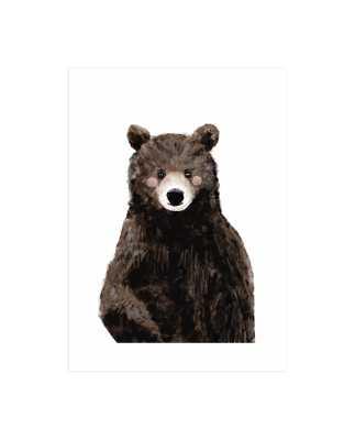 Baby Animal Bear - Unframed - Minted