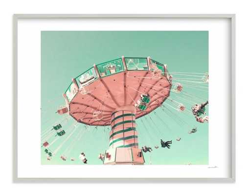 """swing ride""  LIMITED EDITION ART w/ Artist Signature - Minted"