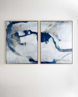 """""""Percussion"""" I & II Giclees, 2-Piece Set - Horchow"""