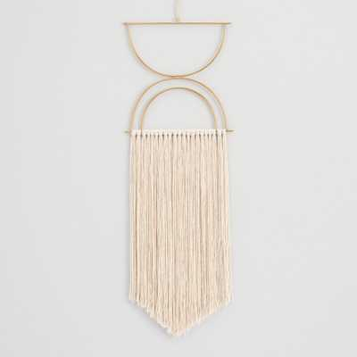 Half Moon Fringe Wall Hanging by World Market - World Market/Cost Plus