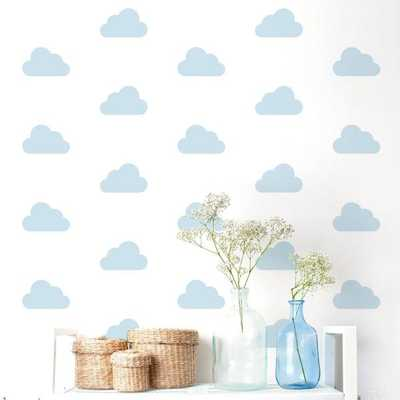 "Adzif ""Cloud Nine"" Kids Wall Decal (2-Sheets) - Home Depot"